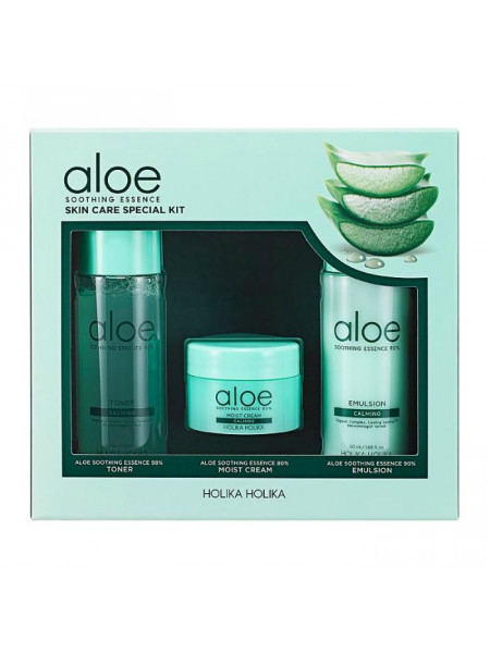 Уходовый набор миниатюр Aloe Soothing Essence Skincare Special Kit
