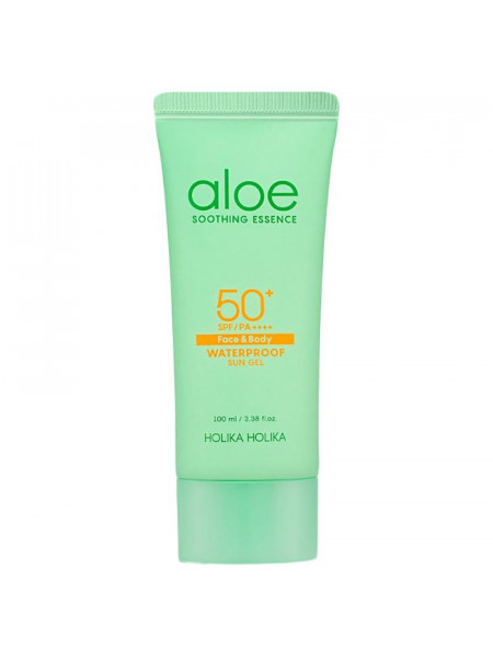Солнцезащитный гель-эссенция с алоэ Aloe Water Proof Sun Gel 100ml
