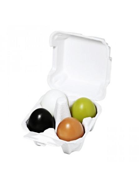 Набор мыло (уголь+глина+зеленый чай+ белок яйца) Egg Soap Special Set (50g*4)