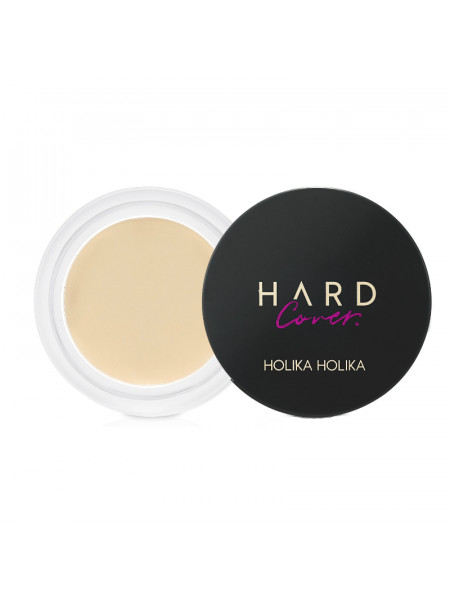 Кремовый консилер Hard Cover Cream Concealer 01 Warm Ivory, светло-бежевый