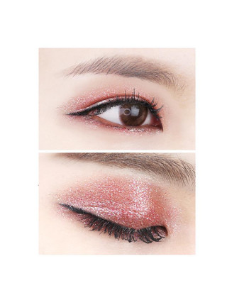 Глиттерные кремовые тени Holiday Eye Metal Glitter 07 ruby twister, алый