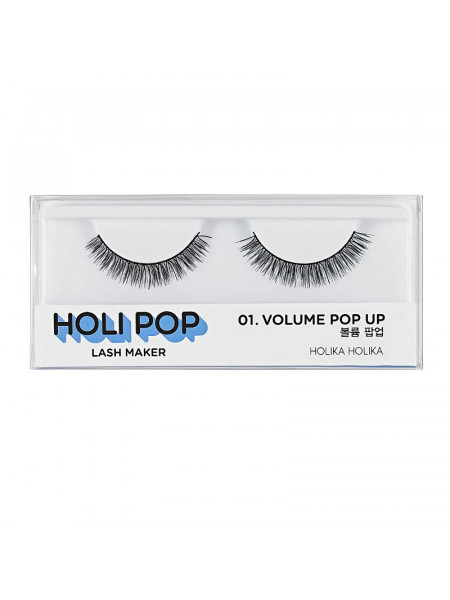 Накладные ресницы Holi Pop Lash Maker 01 Volume Pop Up