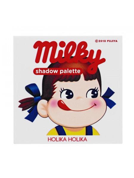 Палетка теней Peko Jjang Piece Matching 4 Colors Shadow Palette 02, молочная карамель