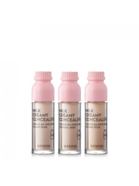 Минеральный консилер с молочными протеинами G9skin Milk Creamy Concealer