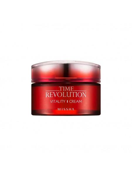 Питательный витаминный крем для лица Missha Time Revolution Vitality Cream