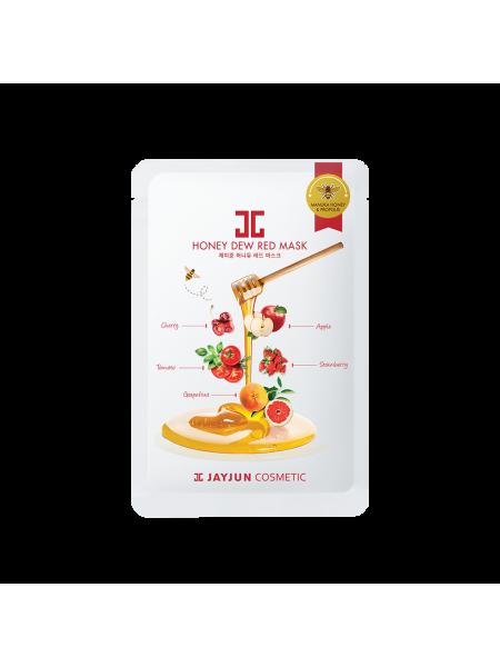 Витаминная целлюлозная маска с красным комплексом Jayjun Cosmetic Honey Dew Red Mask