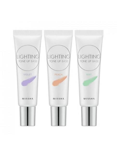 Корректирующая основа под макияж  MISSHA Lighting Tone Up Base SPF30 PA++