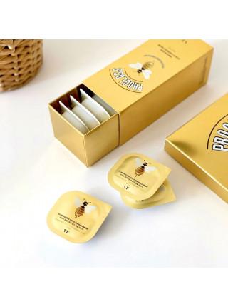 Питательная золотая маска с мёдом VT Cosmetics Progloss Capsule Mask