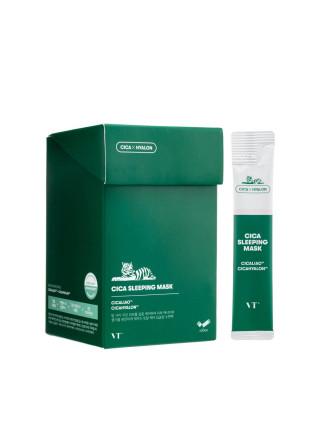 Ночная маска для чувствительной и проблемной кожи VT Cosmetics Cica Sleeping Mask - 4 ml