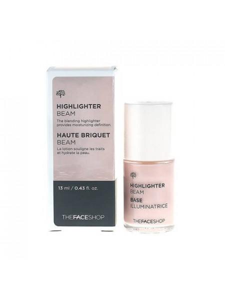 Кремовый перламутровый хайлайтер The Face Shop Highlighter Beam