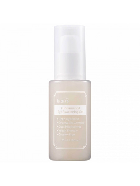 Гель для век против отеков Dear, Klairs Fundamental Eye Awakening Gel