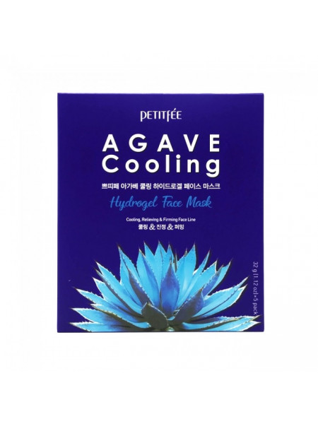 Гидрогелевая маска для лица с экстрактом агавы Agave Cooling Hydrogel Face Mask 1pcs