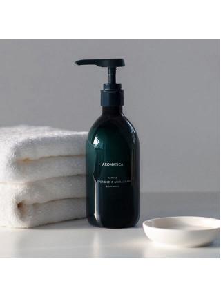 Гель для душа с лавандой и майораном Aromatica Serene Lavender&Marjoram Body Wash