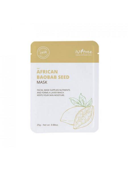Маска с экстрактом семян африканского баобаба ISNTREE African Baobab Seed Mask