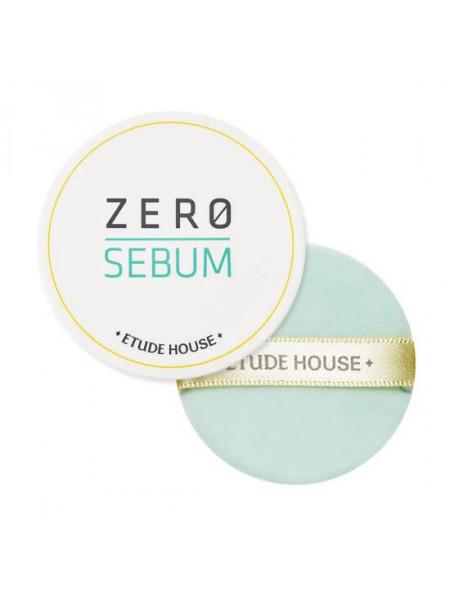 Минеральная рассыпчатая матирующая пудра Etude House Zero Sebum Drying Powder