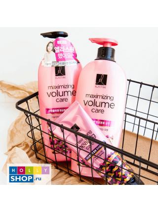 Шампунь для объёма с морским коллагеном Elastine Maxizing Volume Care Marine Collagen Tangle Volume Shampoo
