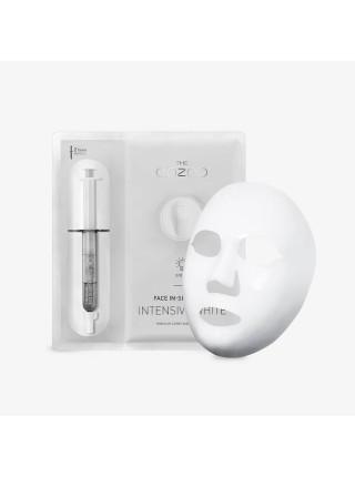 Маска-концентрат для интенсивного отбеливания кожи The OOZOO Face In-Shot Mask Intensive White