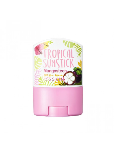 Солнцезащитный стик для лица SPF50+ PA+++ Tropical Sun Stick Mangosteen