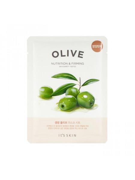 Интенсивно увлажняющая тканевая маска с маслом оливы The Fresh Olive Mask Sheet