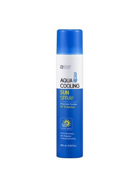 Солнцезащитный охлаждающий спрей SNP Aqua Cooling Sun Spray 50 PA++++