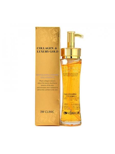 Восстанавливающая эссенция 3W CLINIC Collagen & Luxury Gold Revitalizing Comfort Gold Essence