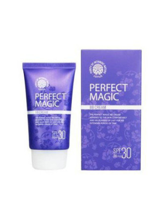 Мультифункциональный ББ-крем Welcos Lotus BB Perfect Magic BB Cream SPF30 PA++