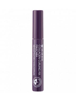 Водостойкая тушь для ресниц с коллагеном Mizon Collagen Curling Fix Mascara