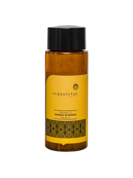 Массажное масло для тела с манго и папайей Massage Oil Mango & Papaya Repairing
