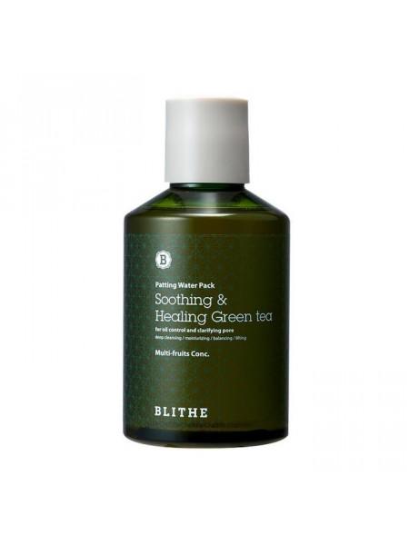 Восстанавливающая сплэш-маска Patting Splash Mask Soothing & Healing Green Tea