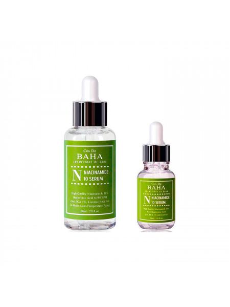 Противовоспалительная сыворотка для жирной кожи Cos De BAHA Niacinamide 10 Serum