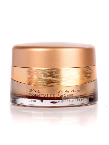 Антивозрастной крем для век The Saem Snail Essential EX Wrinkle Solution Eye Cream
