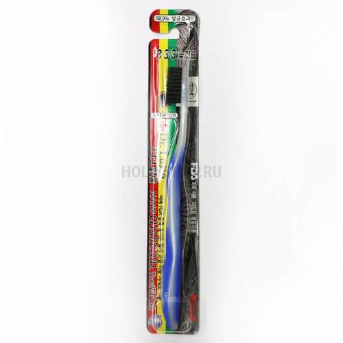 Зубная щётка с серебряным напылением Dr. Lusso Nano Silver Toothbrush