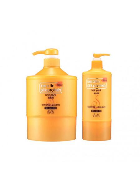Маска для волос с кератином Somang Keratin Silkprotein Hair Pack