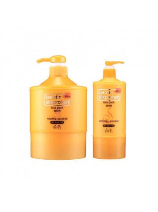 Маска для волос с кератином Somang Keratin Silkprotein Hair Pack - 1000 мл