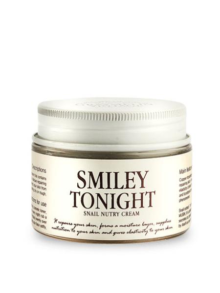 Питательный крем с муцином улитки и маслом ши Graymelin Smiley Tonight Snail Nutry Cream