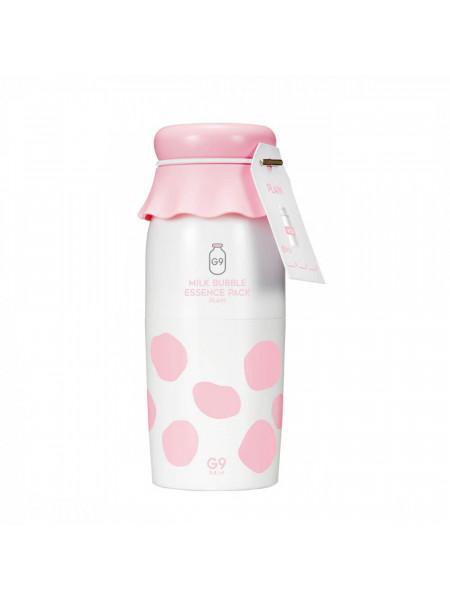 Кислородная эссенция с молочными протеинами G9Skin Milk Bubble Essence Pack Plain