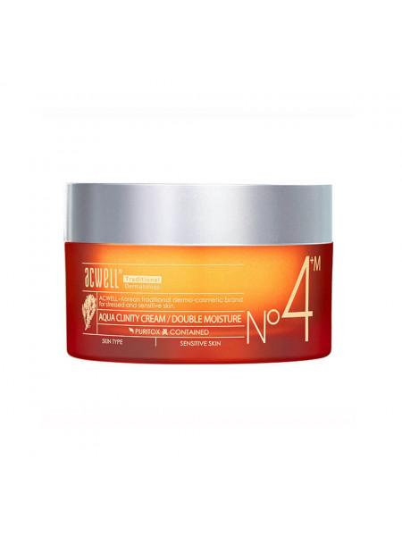 Питательный крем для чувствительной кожи Acwell Aqua Clinity Cream Double Moisture