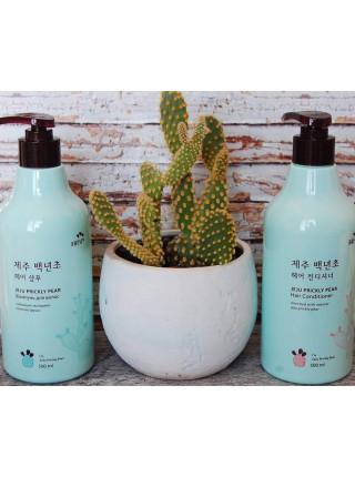 Увлажняющий кондиционер с экстрактом колючей груши Flor de Man Jeju Prickly Pear Hair Conditioner