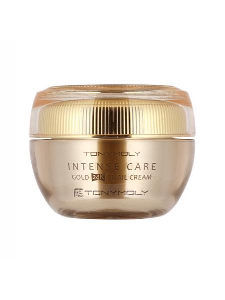 Антивозрастной крем для лица с золотом Tony Moly Gold 24K Snail Cream