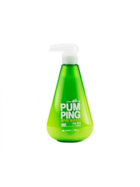 Освежающая зубная паста Perioe Pumping Breath Care Toothpaste