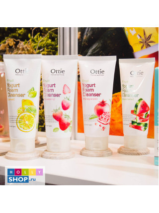 Йогуртовые пенки для умывания Ottie Fruits Yogurt Foam Cleanser