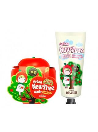 Осветляющая маска для лица Baviphat Urban Dollkiss New Tree Apple Instant Tone-Up Brightening Pack — Туба: 30 гр