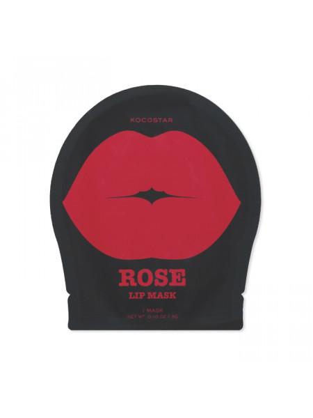 Гидрогелевый патч для губ, роза