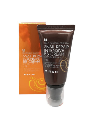 ВВ-крем с муцином улитки Mizon Snail Repair Intensive BB Cream SPF50+ РА+++ №21