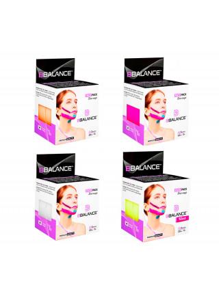 Кинезио тейп для лица из хлопка BB Face Tape™ 2,5 см*5 м - белый
