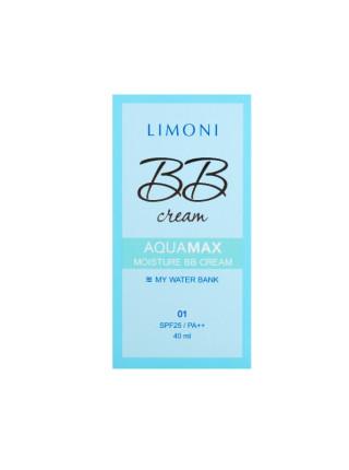 Увлажняющий ББ-крем для лица Aquamax Moisture BB Cream №1 SPF25/PA++, тон 1