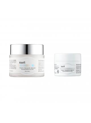 Витаминная ночная маска для сияния кожи Dear, Klairs Freshly Juiced Vitamin E Mask 15 ml.