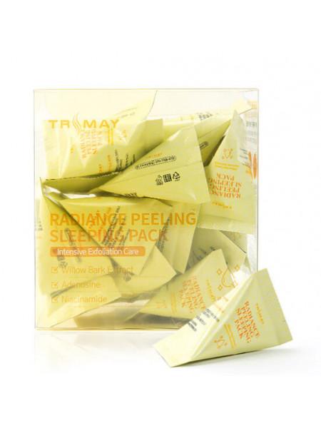 Ночная маска с ниацинамидом для сияния кожи Trimay Radiance Peeling Sleeping Pack