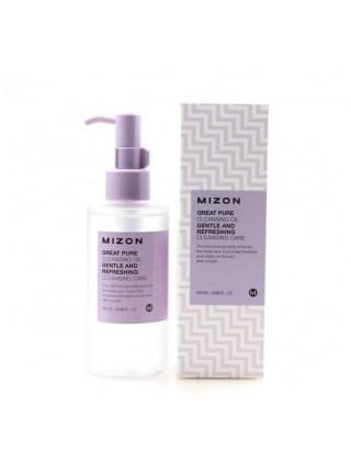 Гидрофильное масло для снятия макияжа Mizon Great Pure Cleansing Oil