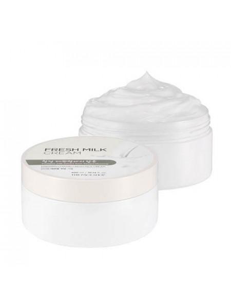 Питательный крем для тела с молочными протеинами The Face Shop Daegwallyeong Fresh Milk Cream